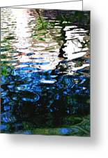 Sunny Lagoon Reflection 29417 Greeting Card