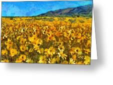 Sunny Meadow Greeting Card