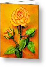 Sunny Rose Greeting Card