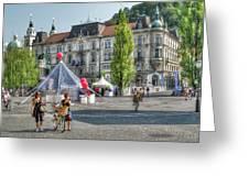 Sunny Slovenia Greeting Card