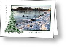 Sunny Winter Day Greeting Card