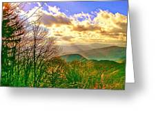 Sunray Illumination Greeting Card
