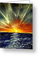Sunrays Greeting Card