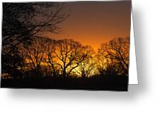 Sunrise - Another Perspective Greeting Card
