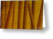 Sunrise At Bamboo Grove Greeting Card