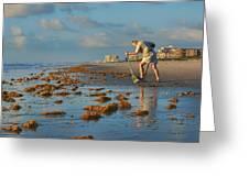 Sunrise At Cocoa Beach Greeting Card