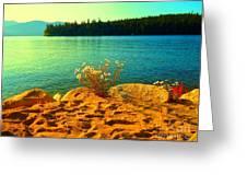 Sunrise At Daisy Lake Greeting Card