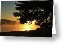 Sunrise At Lake Lanier 006 Greeting Card