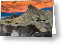 Sunrise At Manly Beacon Greeting Card