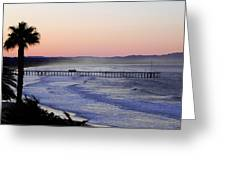 Sunrise At Pismo Beach Greeting Card