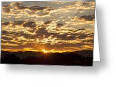 Sunrise At Spirit Lake Sanctuary Lower Lake Ca 20140710 0609 Greeting Card