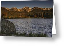 Sunrise At Spraque Lake Greeting Card by Tom Wilbert