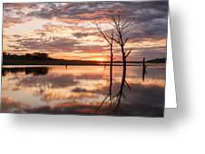 Sunrise At Stockdale Greeting Card