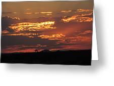 Sunrise Closeup 9-11-2013 Greeting Card
