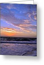 Sunrise Cloudshadows Greeting Card