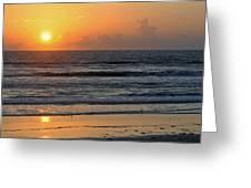 Sunrise Daytona Greeting Card
