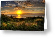 Sunrise Dune Greeting Card
