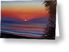 Sunrise Glow Greeting Card