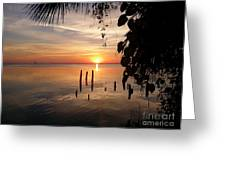 Sunrise Hang Greeting Card