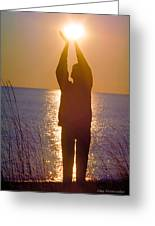 Sunrise - Healing Light Greeting Card