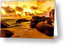 Sunrise In Bintan 2 Greeting Card