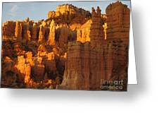 Sunrise In Bryce's Fairyland Greeting Card