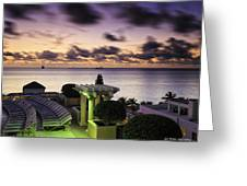 Sunrise In Ft. Lauderdale Greeting Card