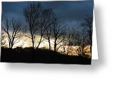 Sunrise In Murrysville Greeting Card