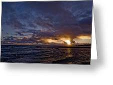 Sunrise In Paradise Greeting Card