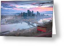 Pittsburgh Fall Day Greeting Card