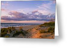 Sunrise In Rodanthe Greeting Card