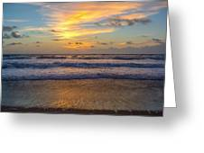 Sunrise In Salvo Greeting Card