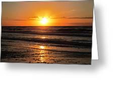 Sunrise In Texas 4 Greeting Card