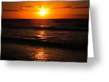 Sunrise In Texas 5 Greeting Card