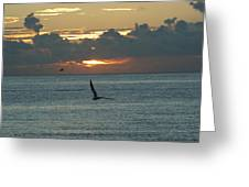 Sunrise In The Florida Riviera Greeting Card