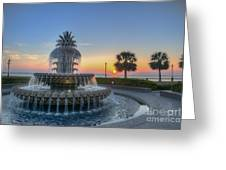 Sunrise In The Lowcountry Greeting Card