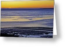 Sunrise Ipswich Bay Greeting Card