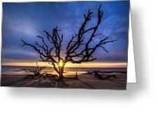 Sunrise Jewel Greeting Card