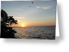 Sunrise Long Key State Park Greeting Card by Susan Sidorski