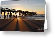 Sunrise Myrtle Beach State Park Greeting Card