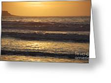 Sunrise Newport Ri Winter 2013 Greeting Card