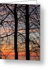 Sunrise Of Lake Huron Greeting Card by Rhonda Humphreys