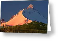 1m5306-sunrise On Mt. Washington Greeting Card