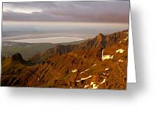 Da5901-sunrise On Steens Mountain Greeting Card
