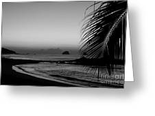 Sunrise On The Costa Chica Greeting Card