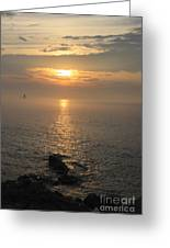 Sunrise On The East Coast Greeting Card
