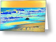Sunrise On Tybee Island - Photopower 169 Greeting Card