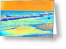 Sunrise On Tybee Island - Photopower 170 Greeting Card