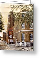 Sunrise On Wapping High Street London Greeting Card