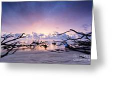 Sunrise Over Blackrock Beach Greeting Card